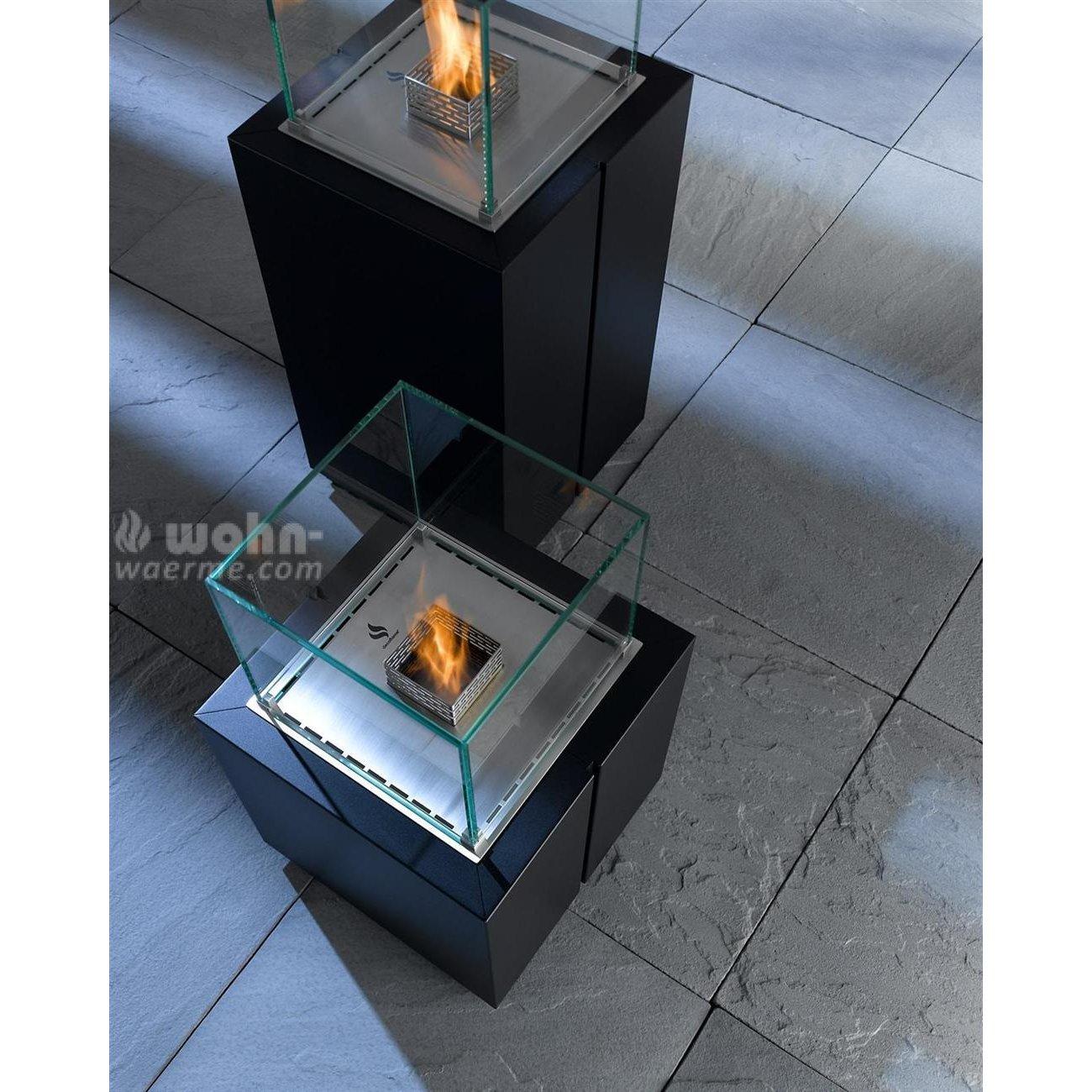 design ethanol kamin s ule decoflame monaco square. Black Bedroom Furniture Sets. Home Design Ideas