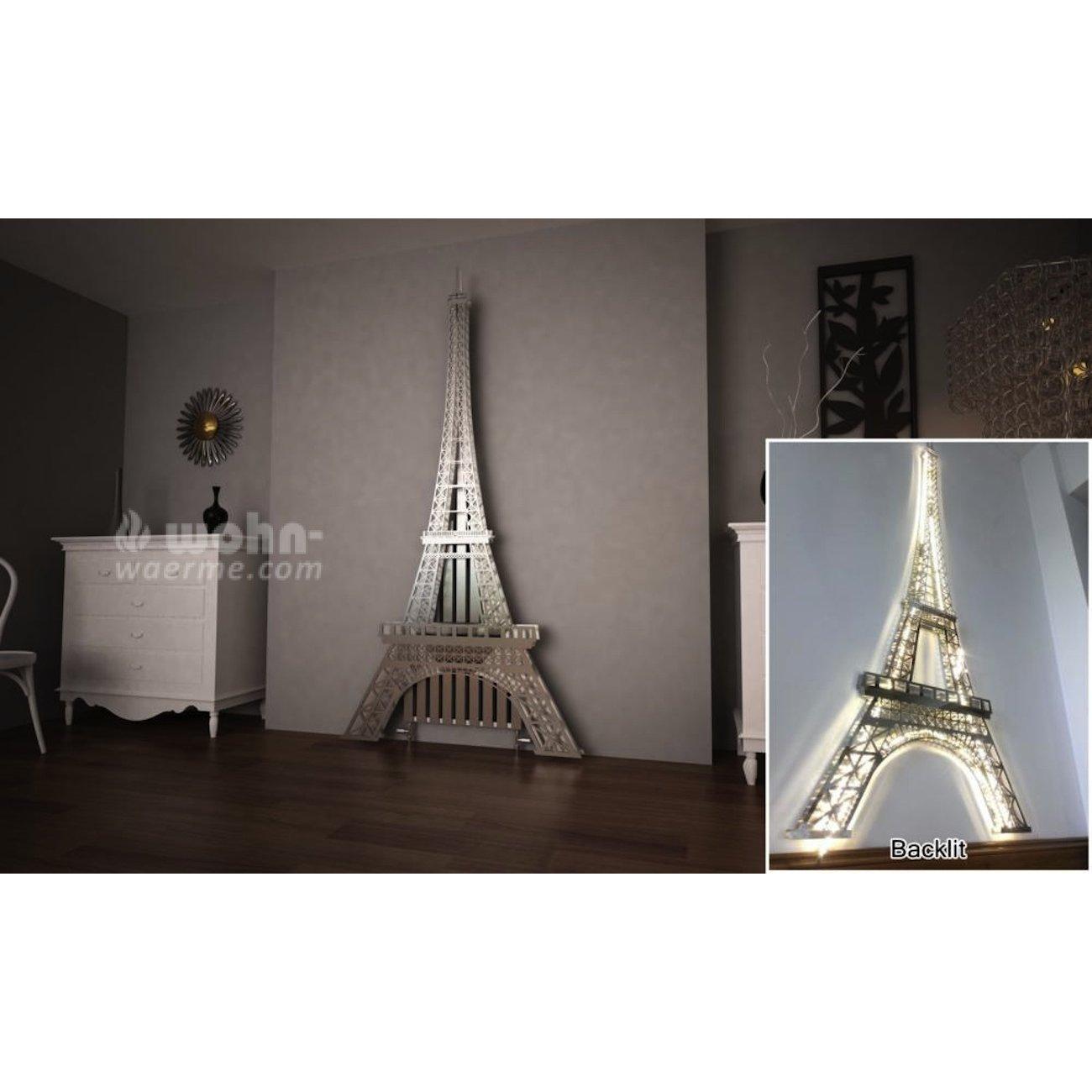 art radiators eiffel turm designheizk rper in edelstahl. Black Bedroom Furniture Sets. Home Design Ideas