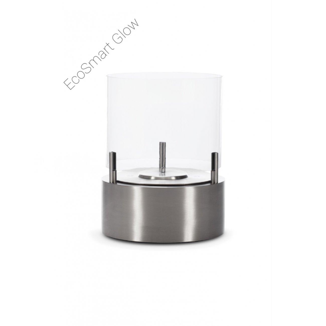 ethanol kamin ecosmart cyl glow f r au en. Black Bedroom Furniture Sets. Home Design Ideas