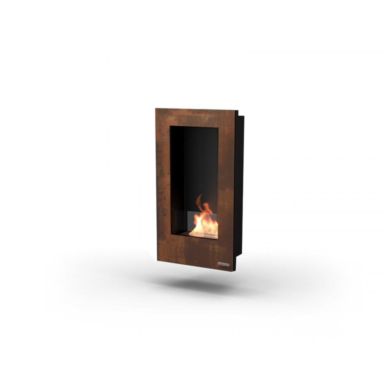 design bioethanol wandkamin glammfire tango. Black Bedroom Furniture Sets. Home Design Ideas