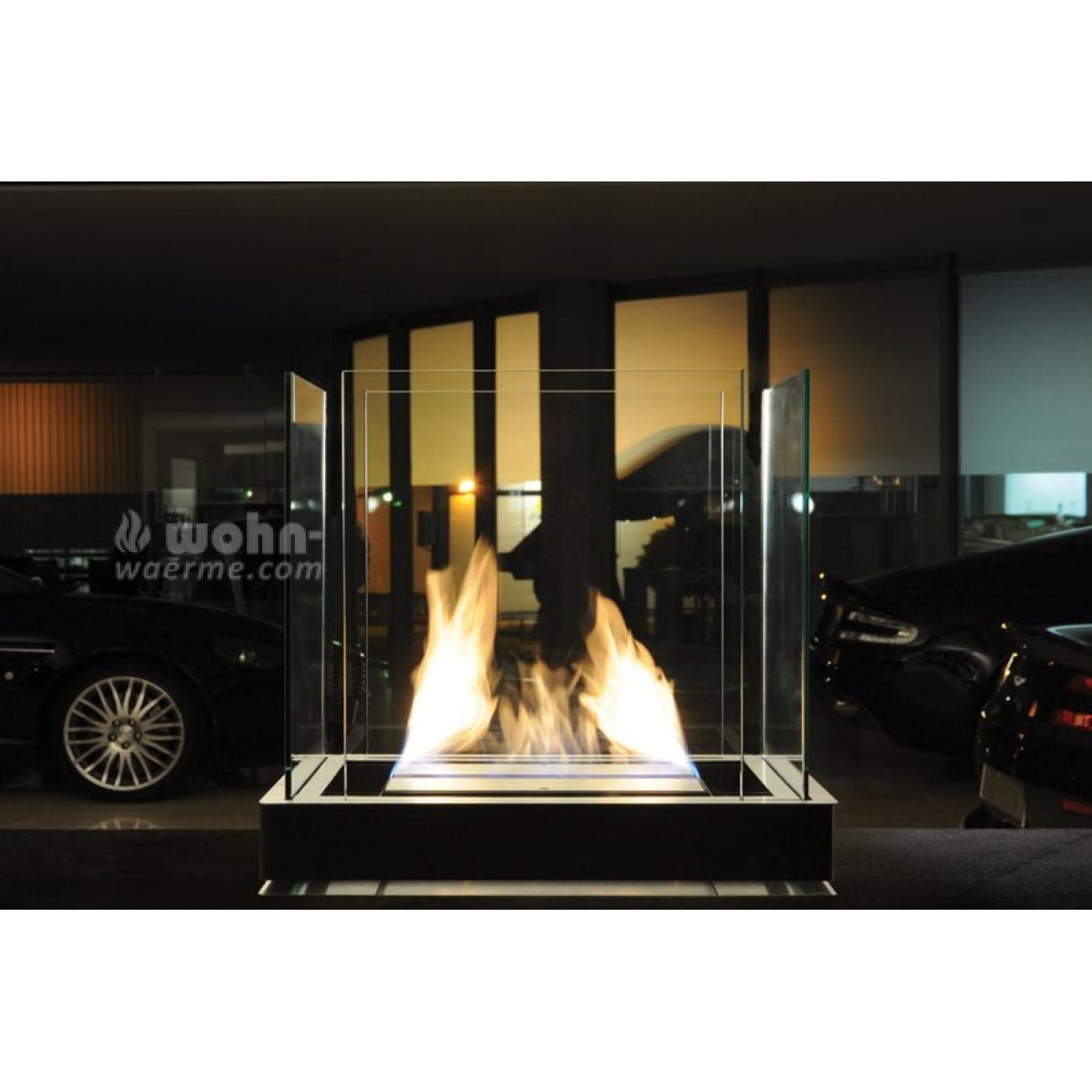 bioethanol kamin radius design top flame. Black Bedroom Furniture Sets. Home Design Ideas