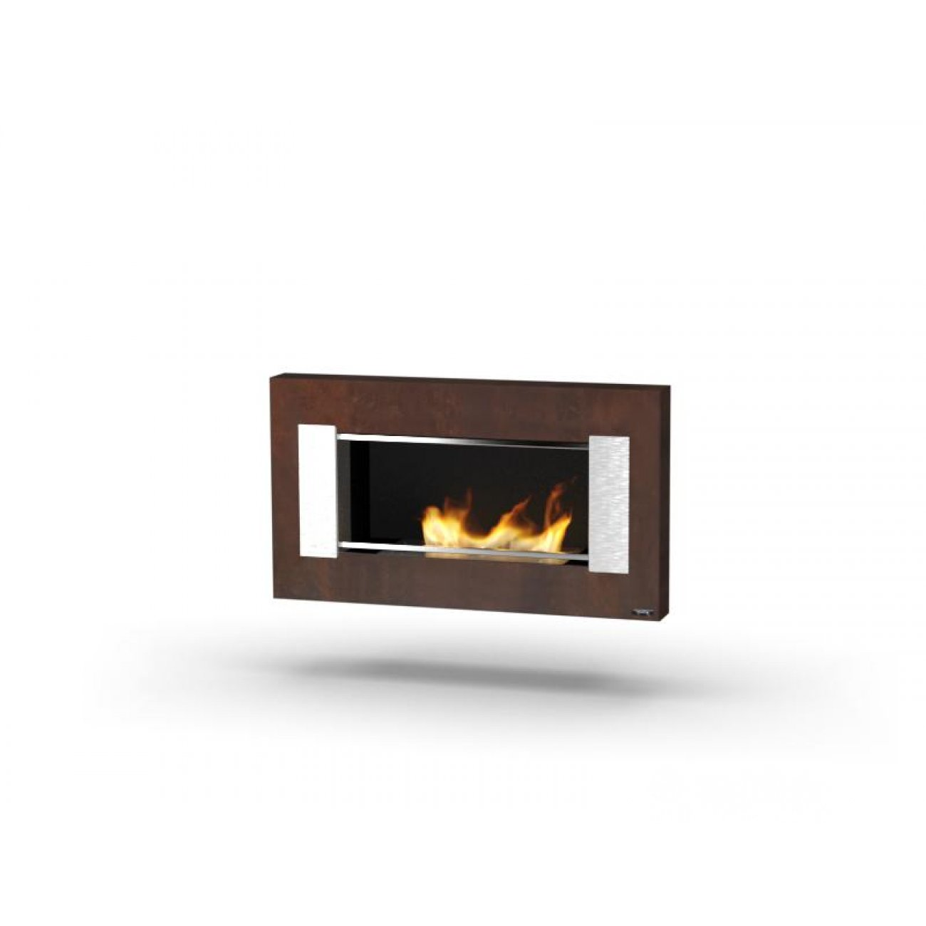 bioethanol wandkamin glammfire mito small. Black Bedroom Furniture Sets. Home Design Ideas