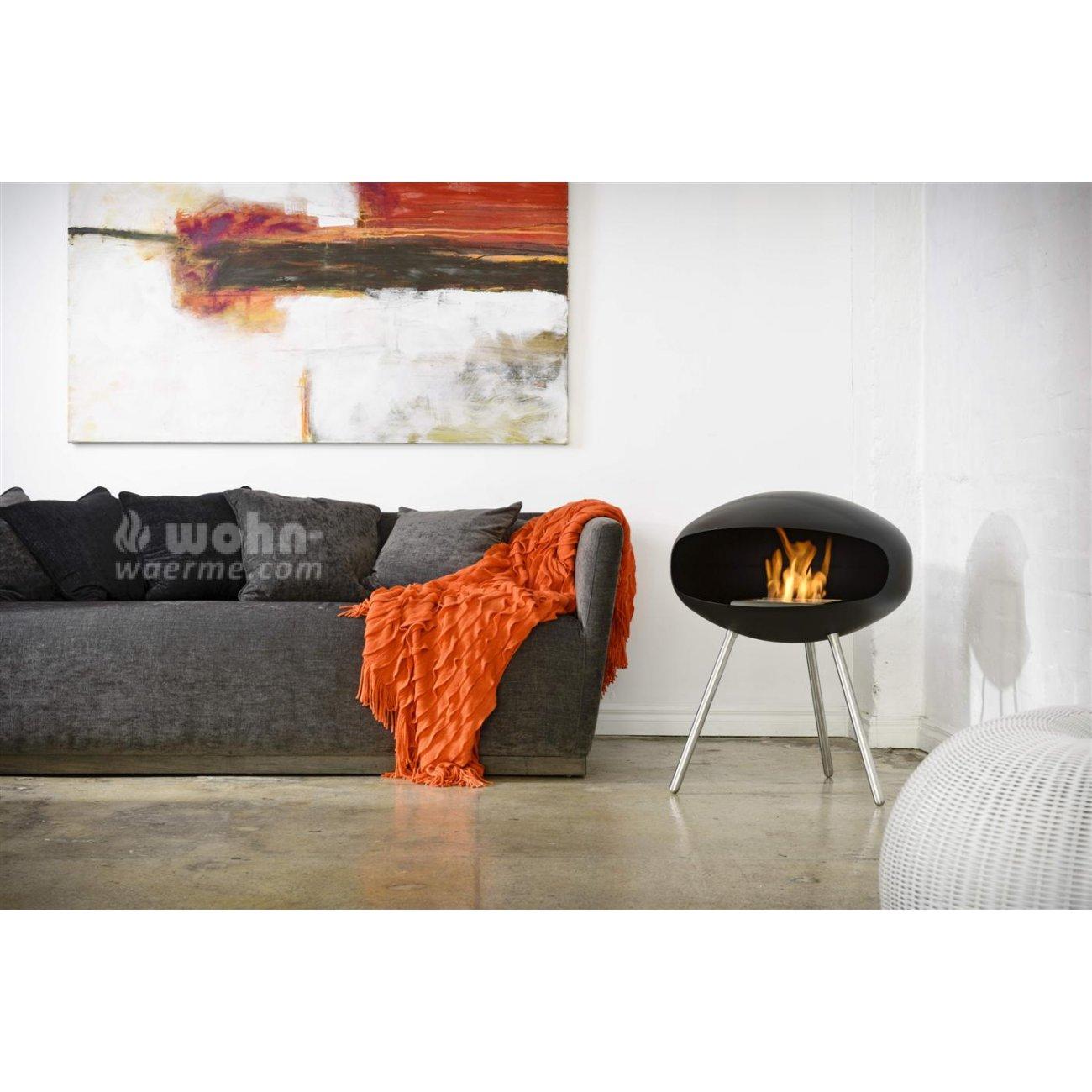 cocoon terra design ethanol kamin. Black Bedroom Furniture Sets. Home Design Ideas