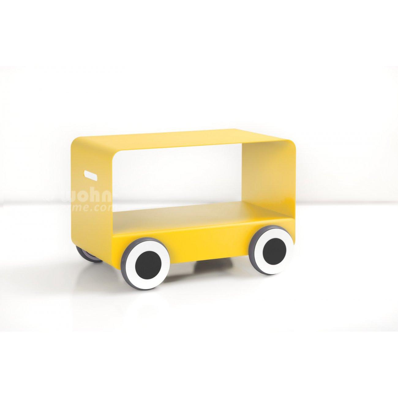 Couchtisch Woody von CARMET mit Rädern