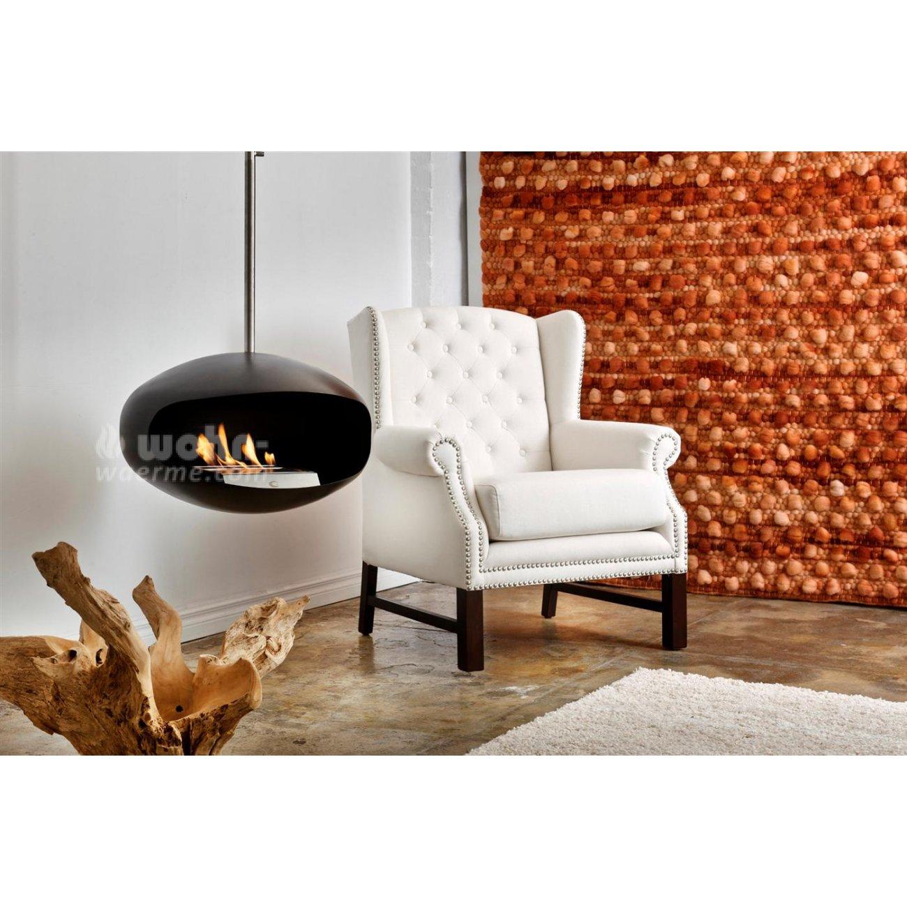 cocoon fires aeris design ethanolkamin h ngend. Black Bedroom Furniture Sets. Home Design Ideas