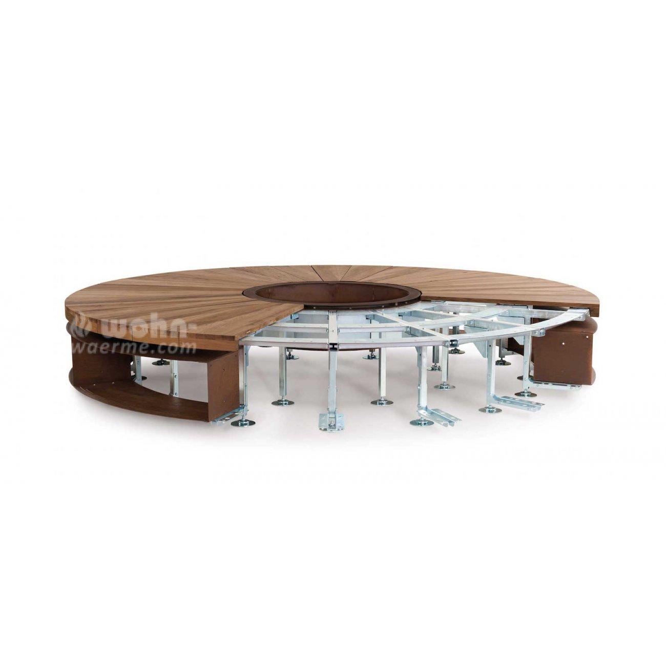 design feuerstelle mit sitzbank von ak47. Black Bedroom Furniture Sets. Home Design Ideas
