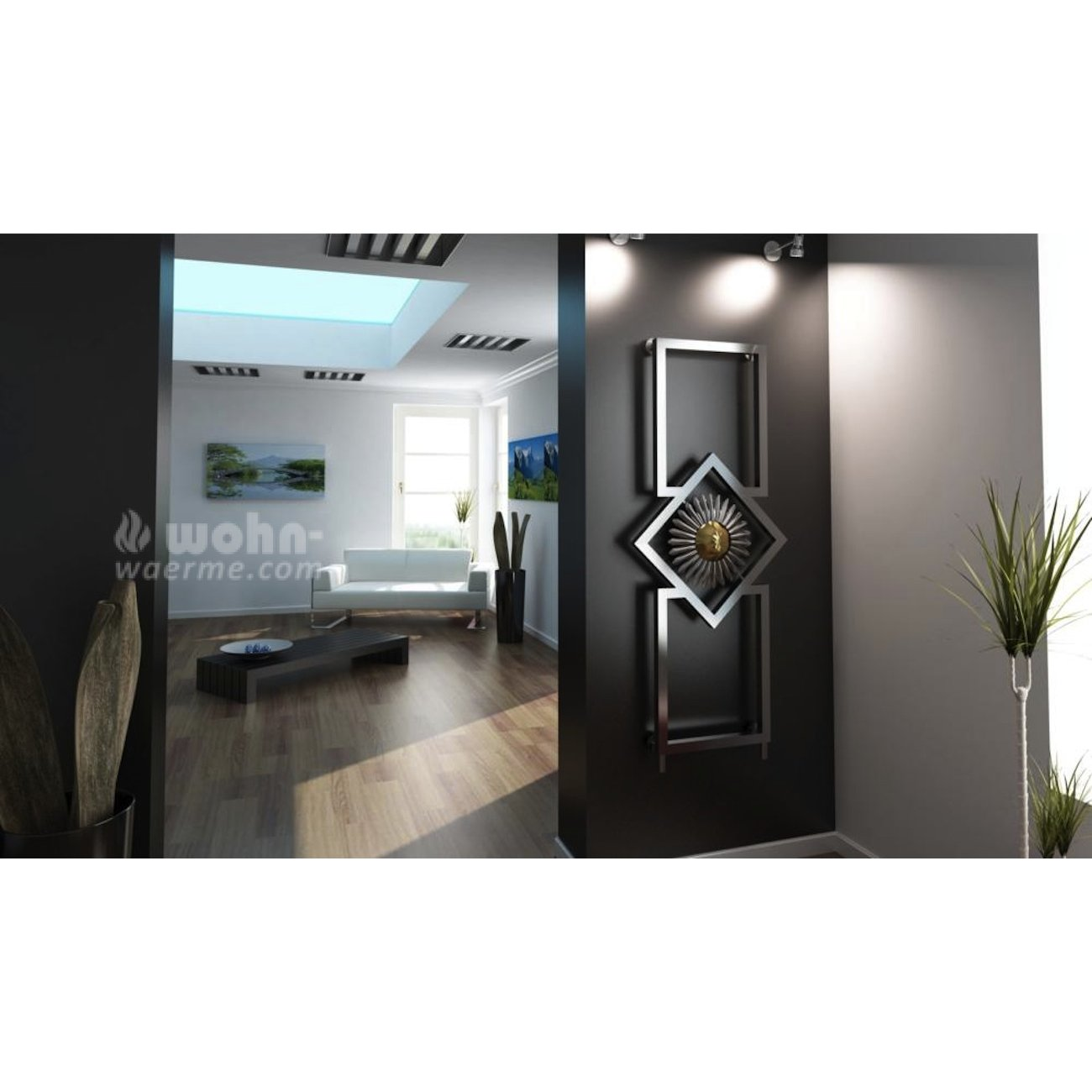 designheizk rper daisy von art radiators. Black Bedroom Furniture Sets. Home Design Ideas