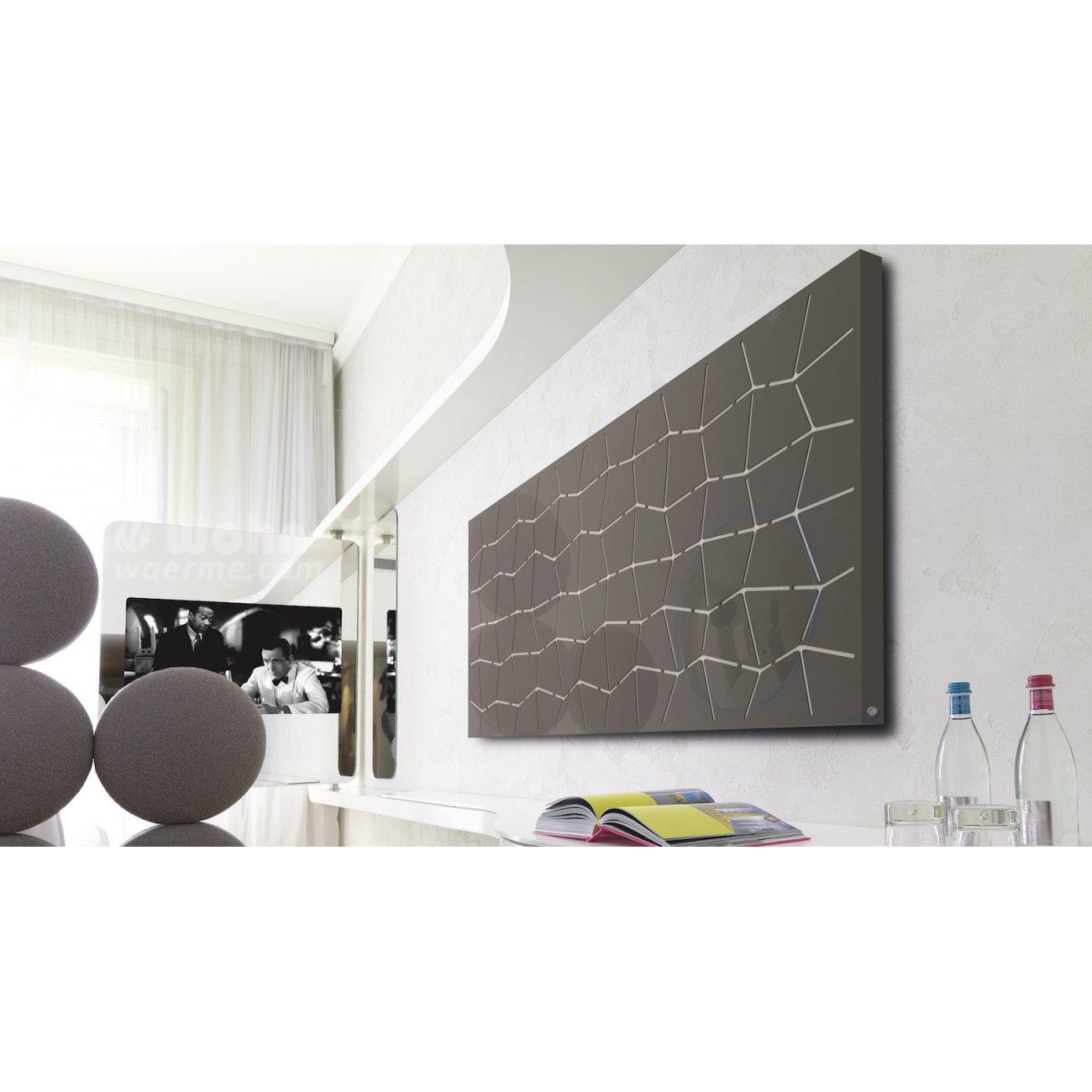 bei trama von k8 radiatori wirken die zwei schichten. Black Bedroom Furniture Sets. Home Design Ideas