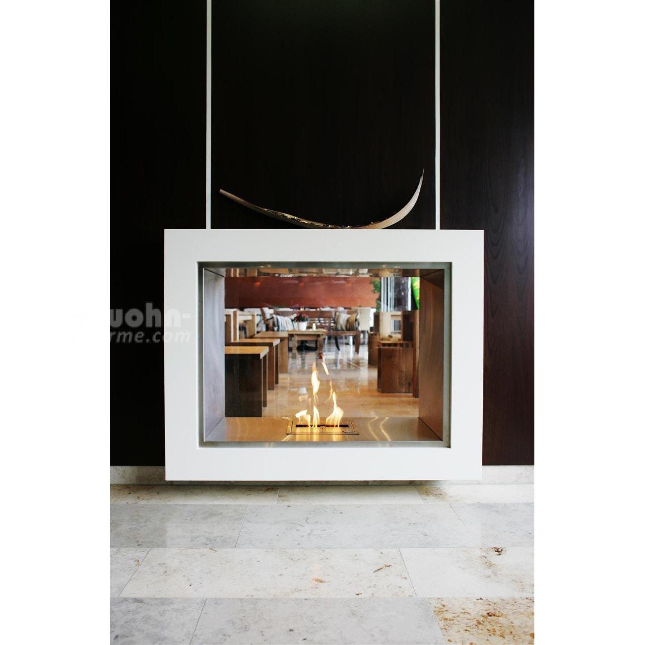 ecosmart vision kamin raumteiler. Black Bedroom Furniture Sets. Home Design Ideas