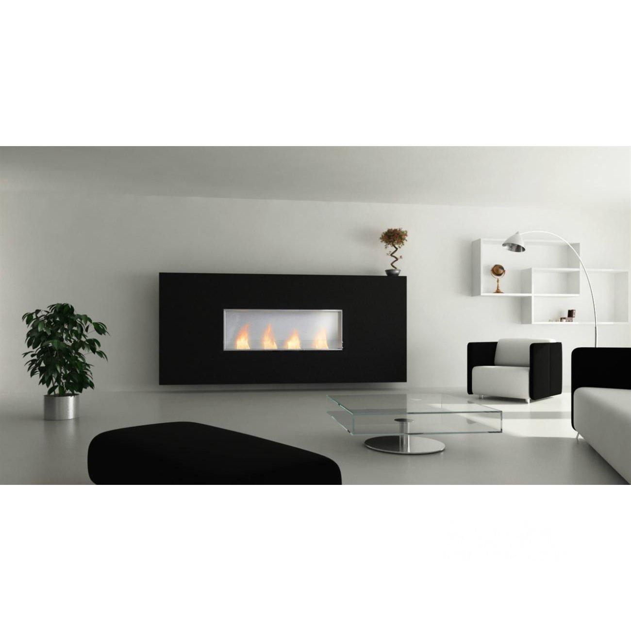 glammfire einbau ethanolkamin glammbox mit r ckwand. Black Bedroom Furniture Sets. Home Design Ideas