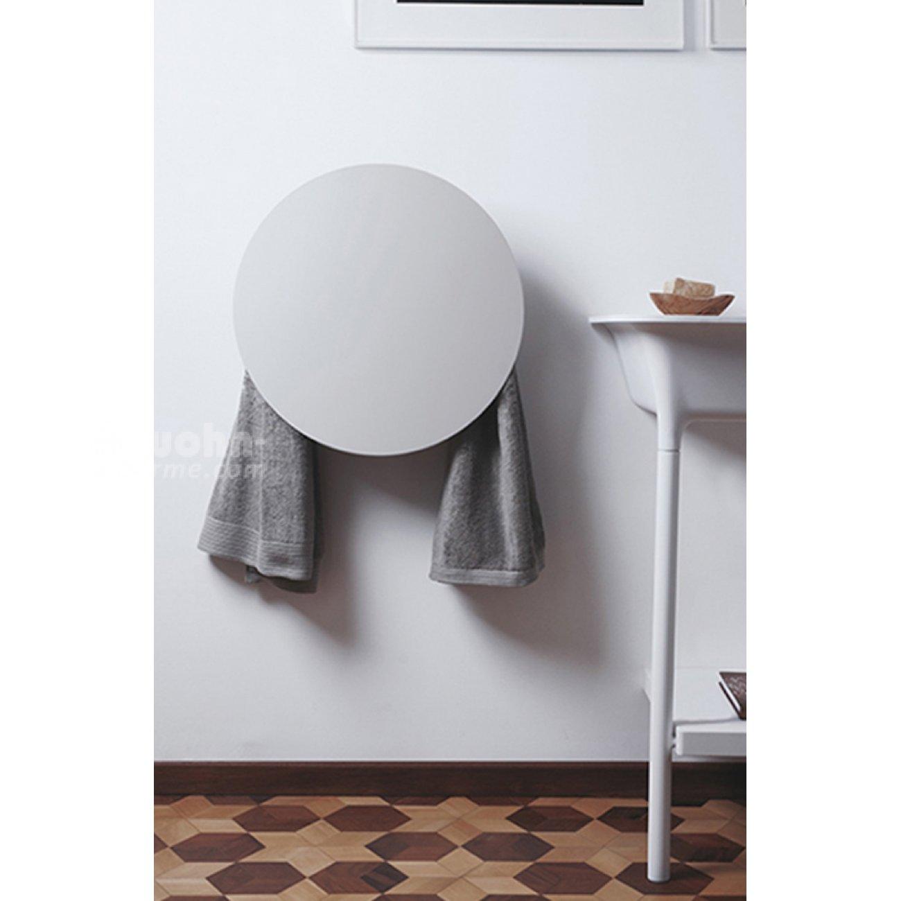 elektrischer handtuchw rmer round neues design im bad. Black Bedroom Furniture Sets. Home Design Ideas