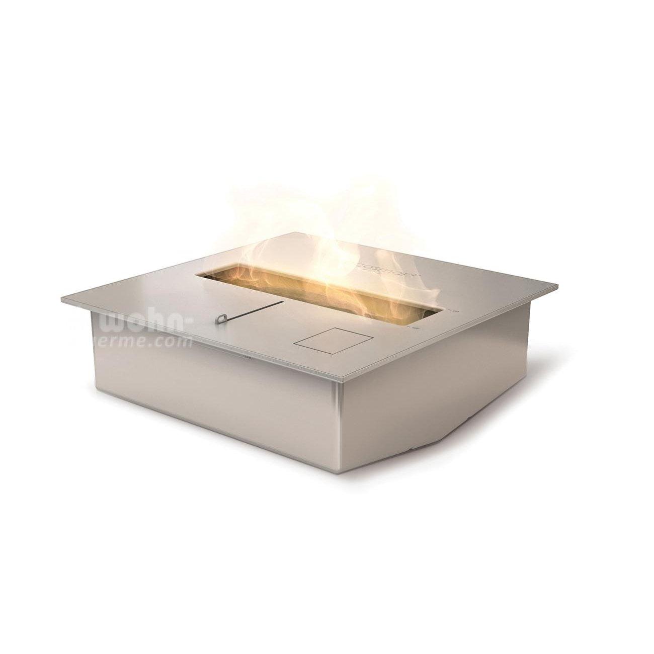 ecosmart eckiger ethanol brenner f r kamine bk serie. Black Bedroom Furniture Sets. Home Design Ideas