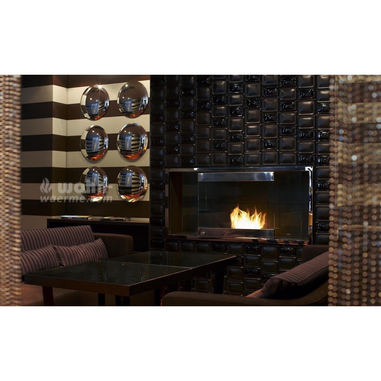 quadratischer ethanol brenner ecosmart bk serie. Black Bedroom Furniture Sets. Home Design Ideas