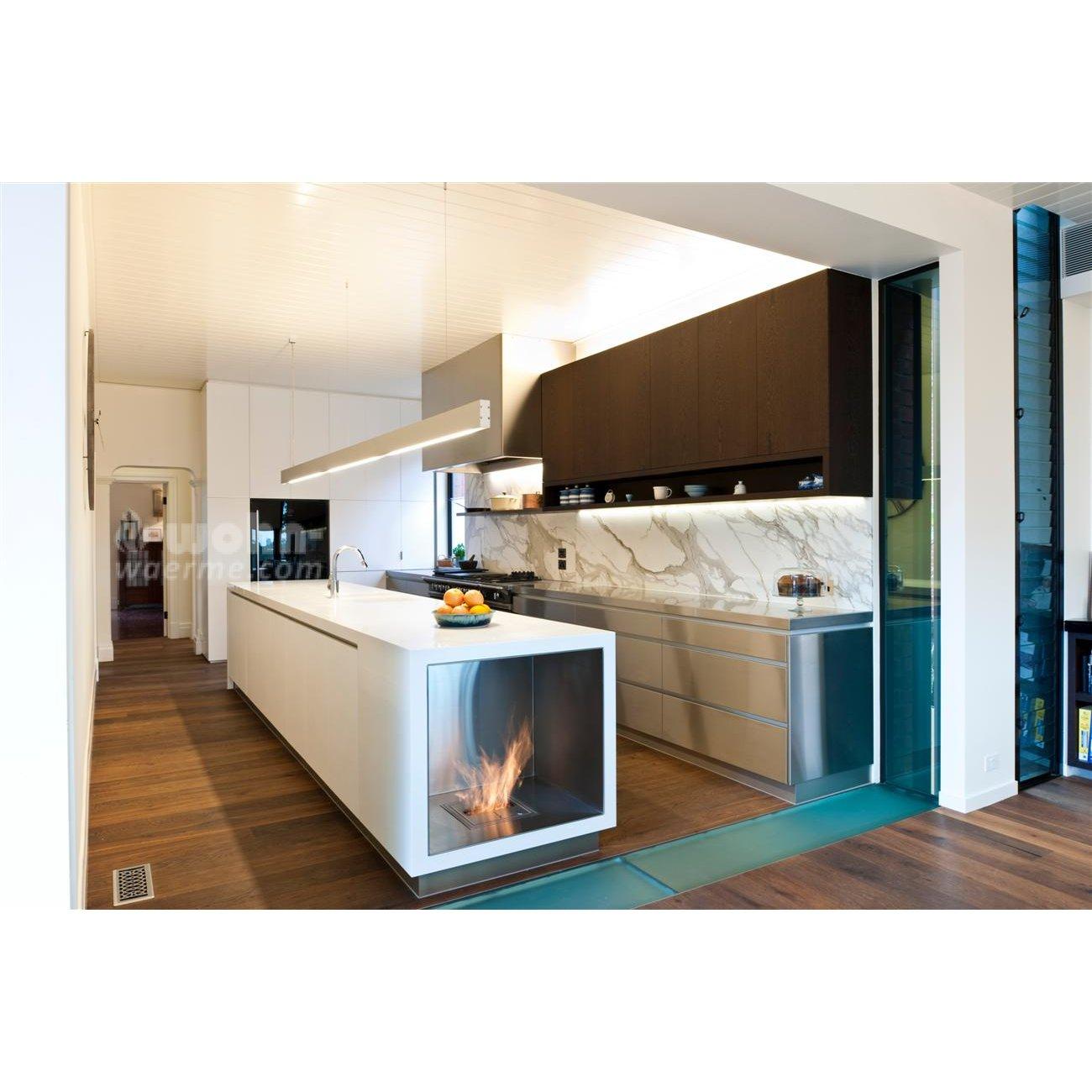 ethanol kamin einbau individueller einbau ethanol kamin montreal von decoflame ebios fire. Black Bedroom Furniture Sets. Home Design Ideas