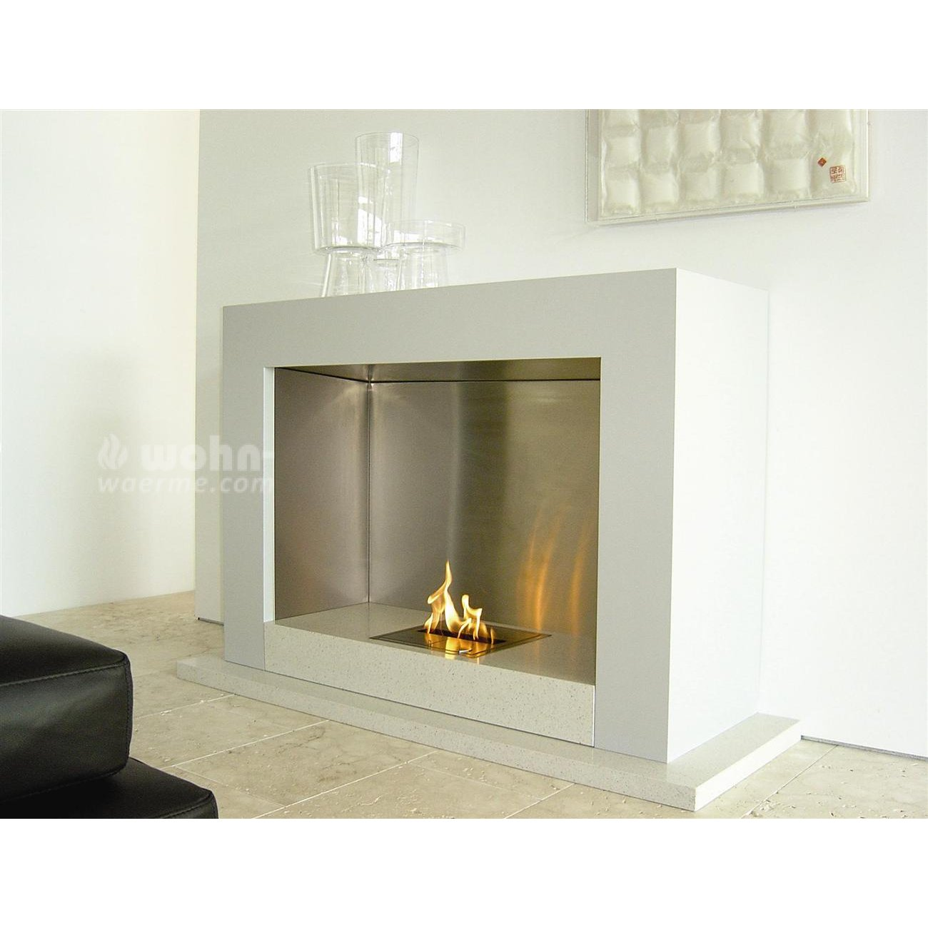 designer ethanol kamin ecosmart oxygen. Black Bedroom Furniture Sets. Home Design Ideas