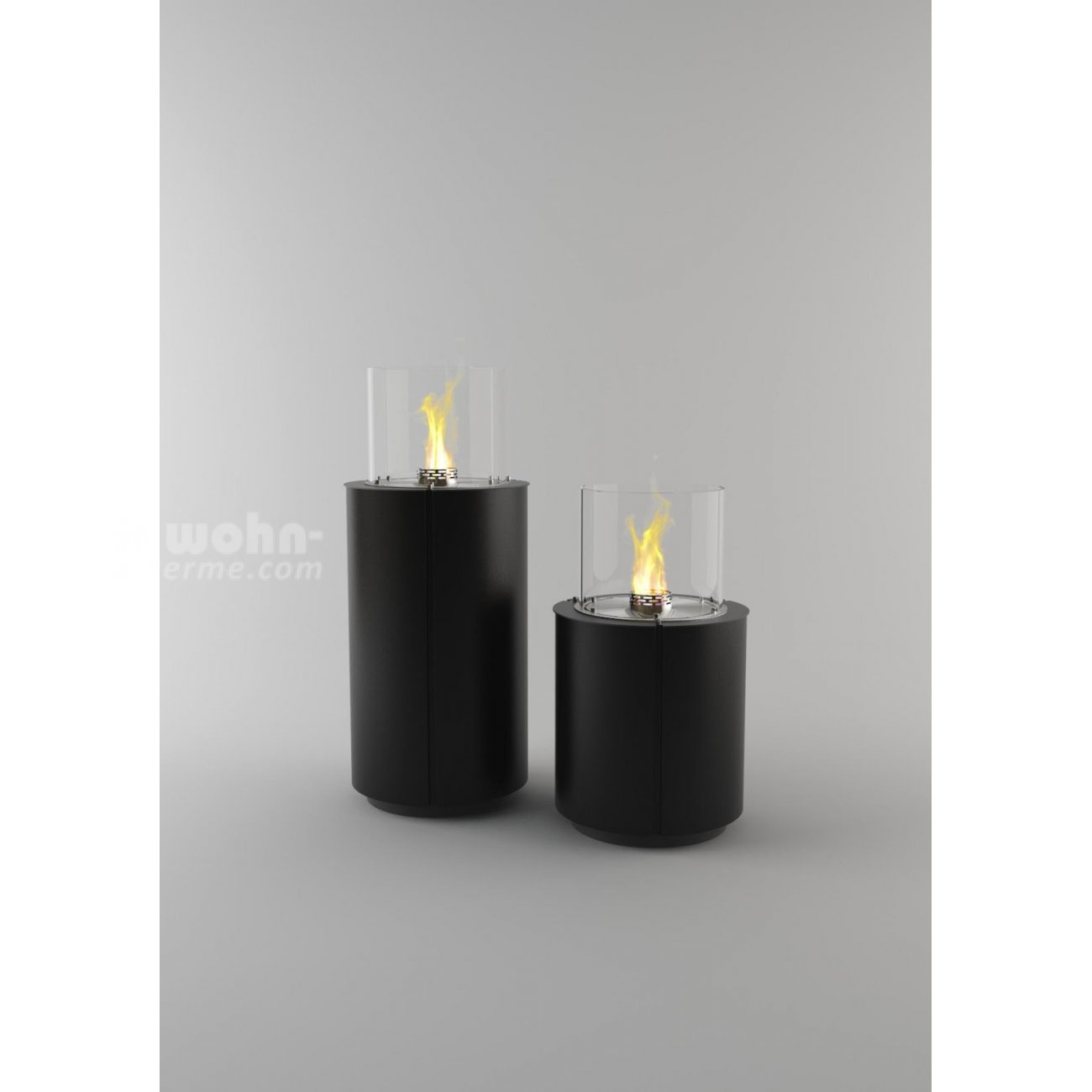decoflame monaco round ethanol kamin feuers ule. Black Bedroom Furniture Sets. Home Design Ideas