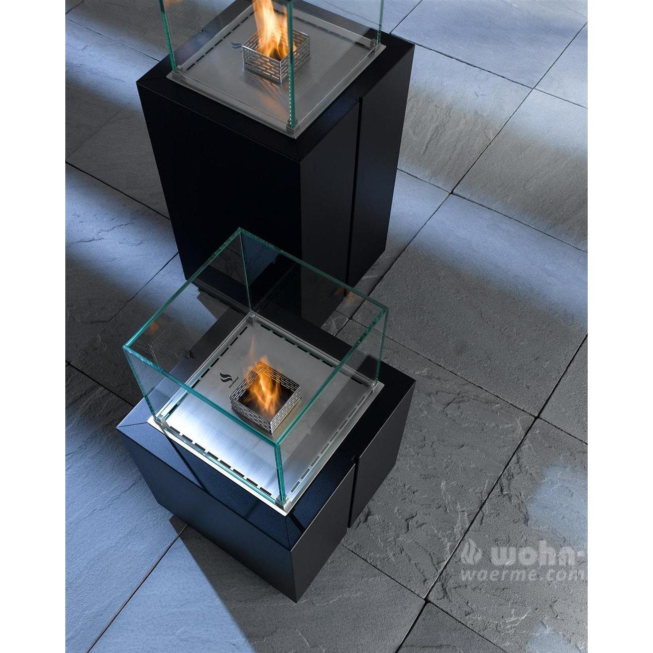 ethanol s ulenkamin decoflame monaco square. Black Bedroom Furniture Sets. Home Design Ideas
