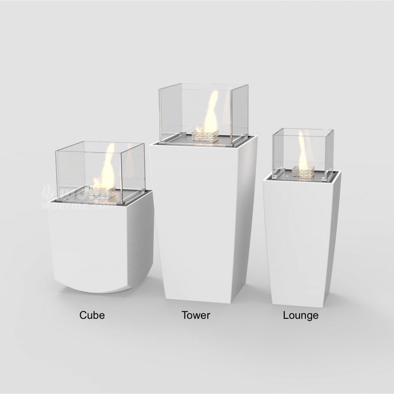 ethanol kamin f r die terasse decoflame nice. Black Bedroom Furniture Sets. Home Design Ideas