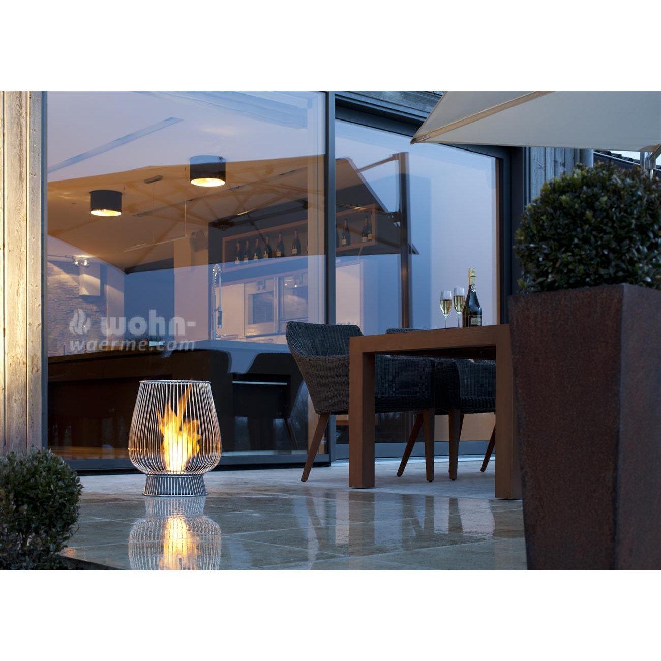 garten ethanol kamin ecosmart bulb. Black Bedroom Furniture Sets. Home Design Ideas