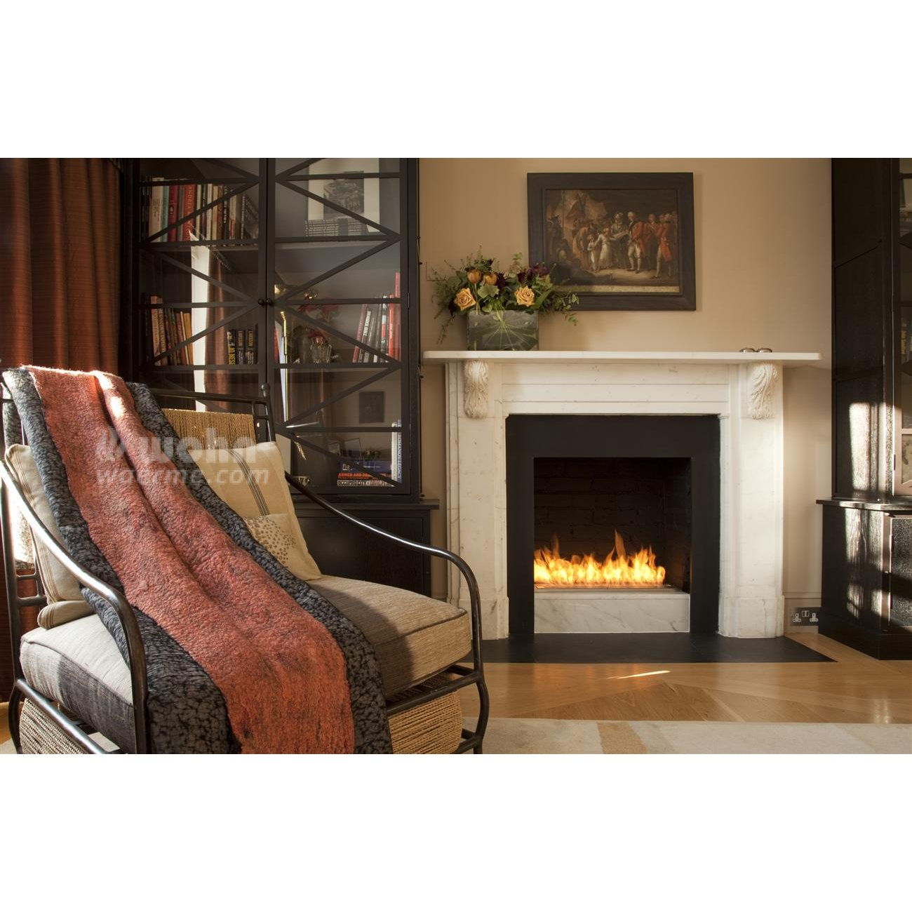 ecosmart ethanol burner l nglich x serie. Black Bedroom Furniture Sets. Home Design Ideas