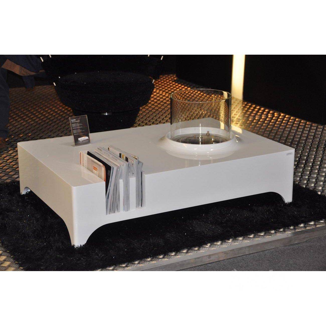 glammfire vulcanu bioethanol lounge tisch. Black Bedroom Furniture Sets. Home Design Ideas