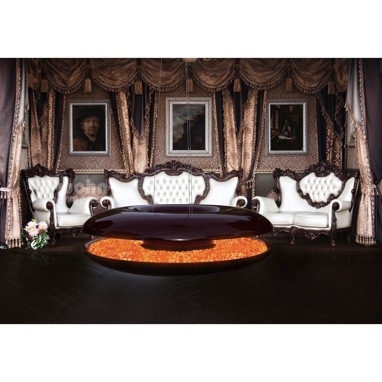 Schon Kamin Luxus ~ Luxus design kamin von vanixa zum aufhängen