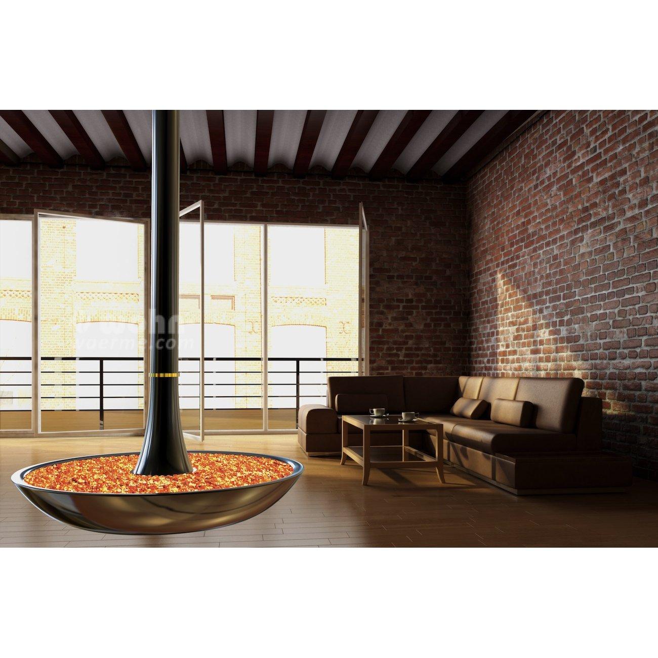 den ess und den fernsehbereich trennt ein wandstck mit. Black Bedroom Furniture Sets. Home Design Ideas