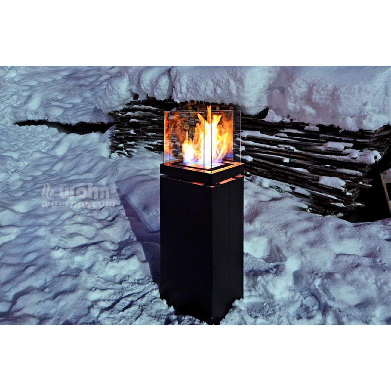 stand ethanolkamin radius design high flame. Black Bedroom Furniture Sets. Home Design Ideas