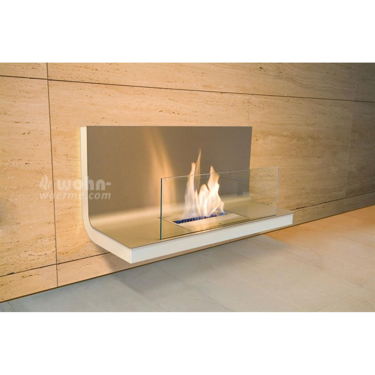 radius ethanol wandkamin wall flame. Black Bedroom Furniture Sets. Home Design Ideas