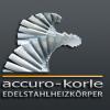 accuro-korle Designheizkörper aus Edelstahl