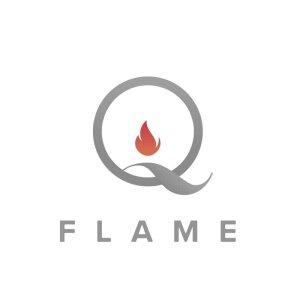 QFlame Glas Feuerschale