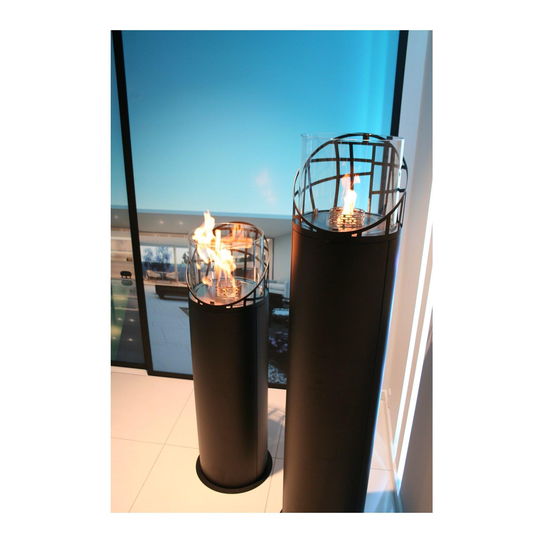 outdoor ethanol kamin dubai round von decoflame. Black Bedroom Furniture Sets. Home Design Ideas