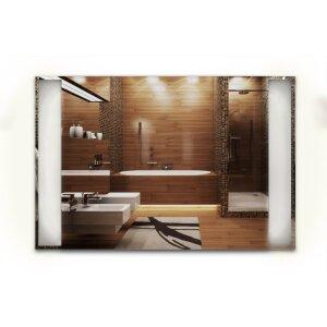 LED Spiegelheizung ohne Rahmen 900x600