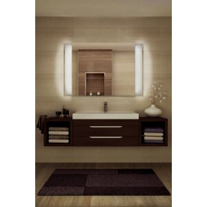 LED Spiegelheizung ohne Rahmen 1100x600