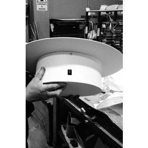 mg12 Round elektrischer Handtuchwärmer weiss matt