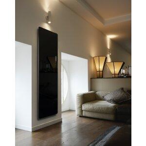 Glas Infrarotheizung in elegantem Design 1400*500 schwarz