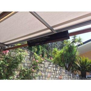 Heatscope Pure Infrarot-Strahler schwarz