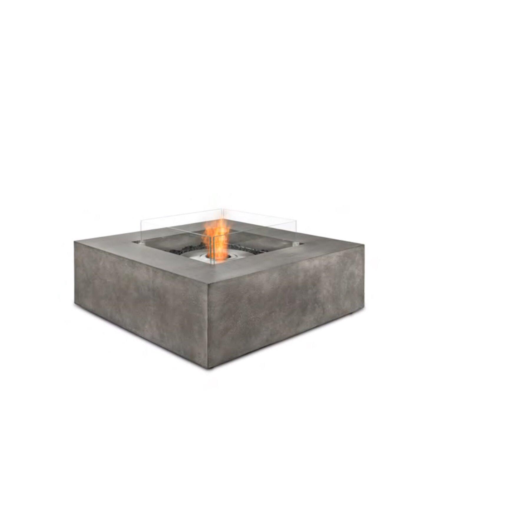 tisch outdoor ethanolkamin ecosmart base. Black Bedroom Furniture Sets. Home Design Ideas