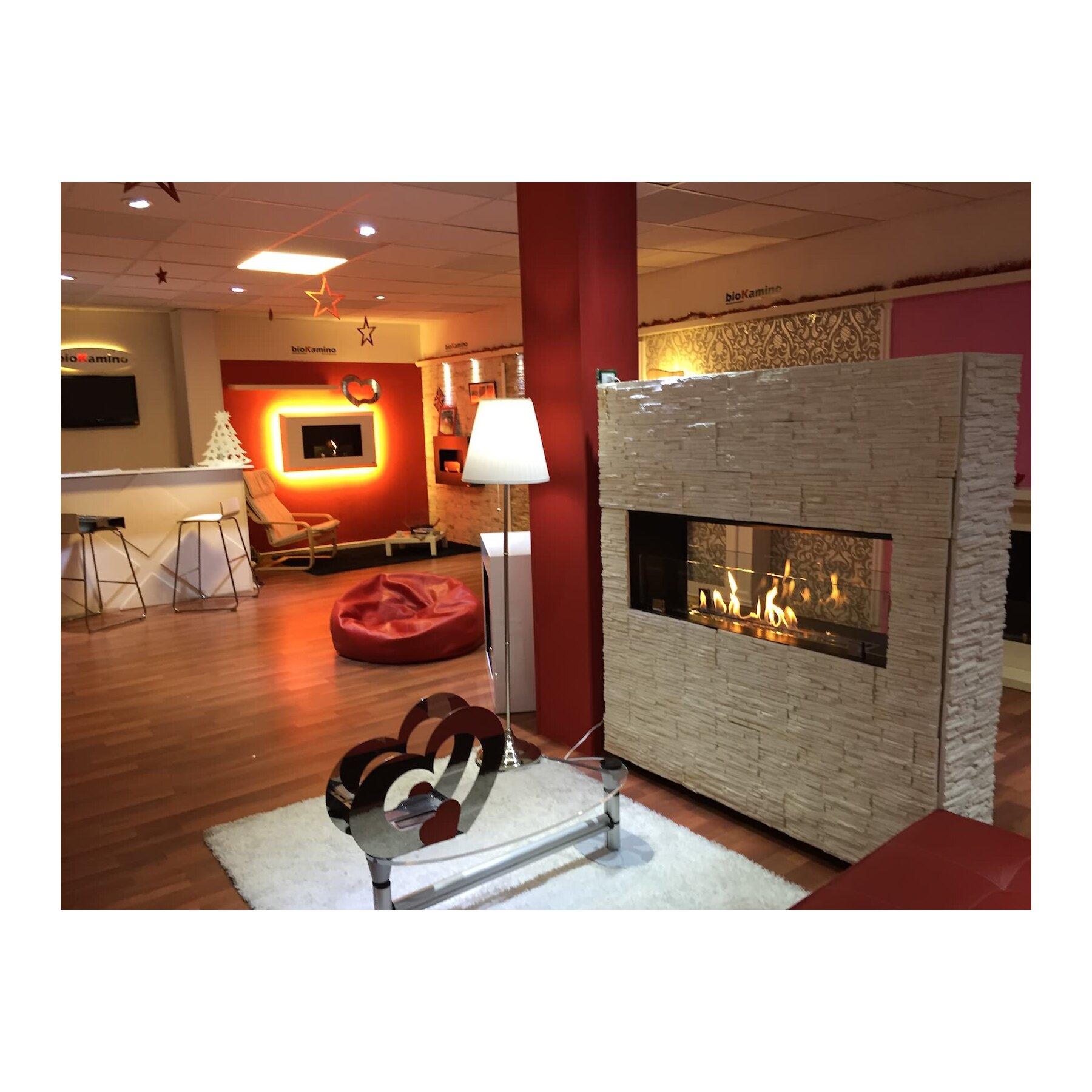 einbaukamin nach ma individuelle l sung von biokamino. Black Bedroom Furniture Sets. Home Design Ideas