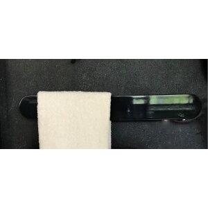 Elektrischer Handtuchhalter Ness schwarz glänzend 630