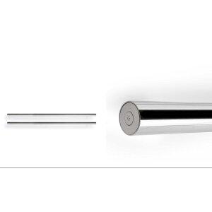 Design Handtuchstange beheizbar schwarz texturiert 1200 mm