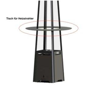Tisch für Loung Pelletheizstrahler