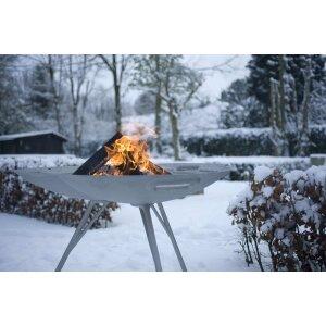 Design Feuerschale Lotus