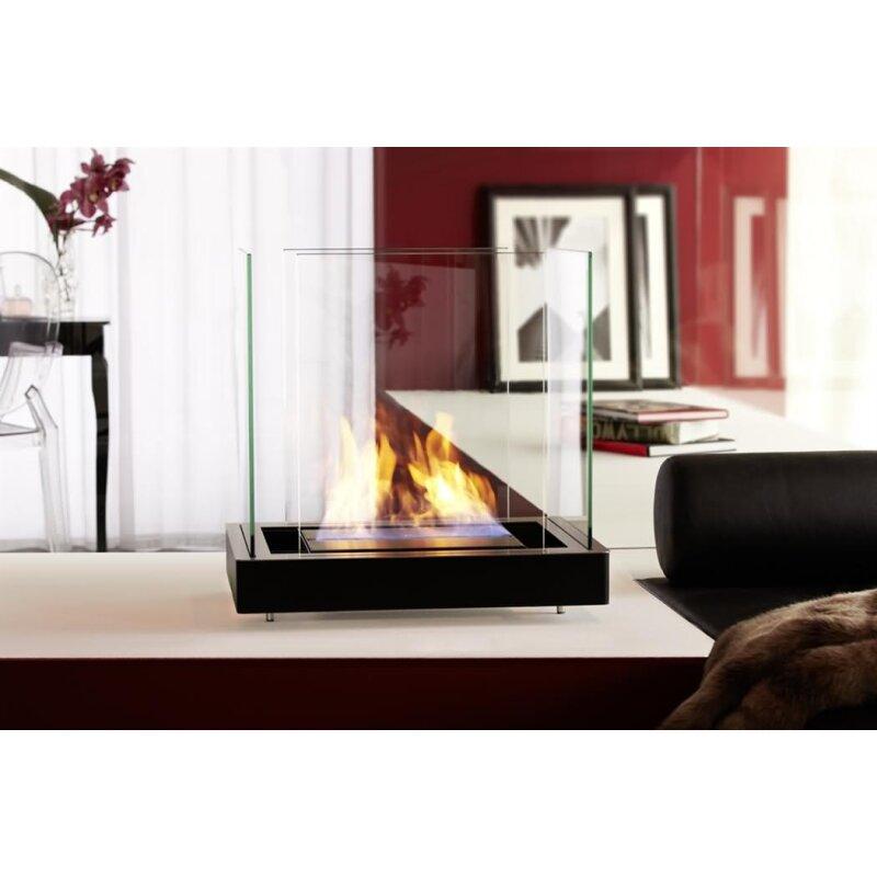 Bioethanol Kamin Radius Design Top Flame