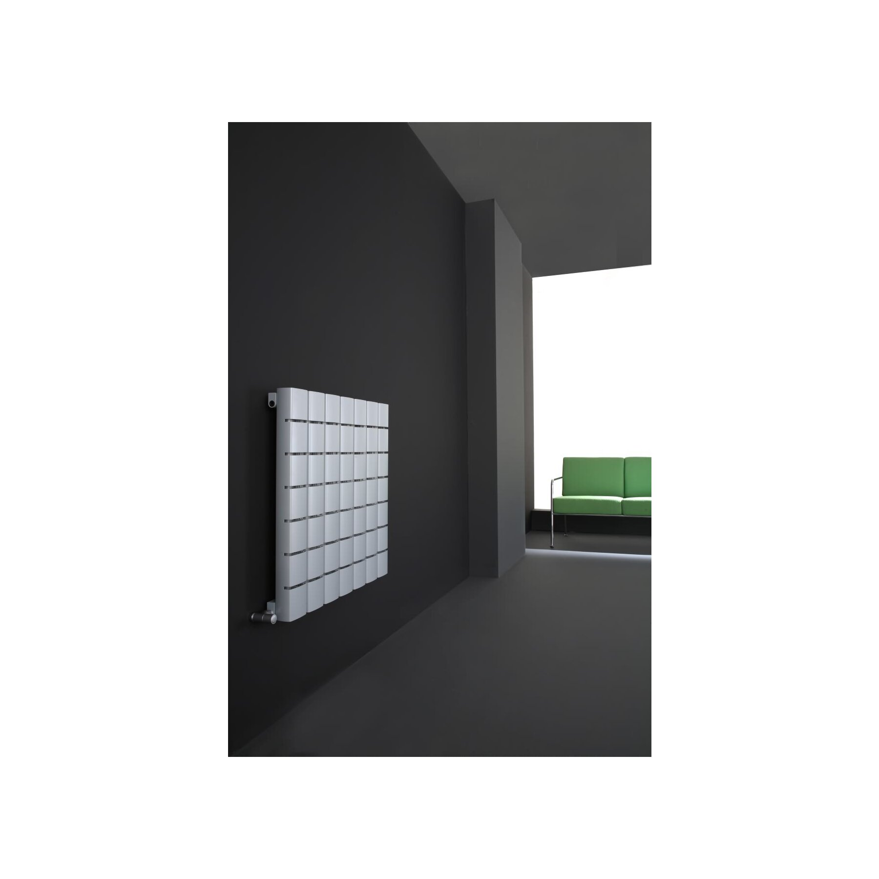 ad hoc mod u design heizk rper aus eloxiertem aluminium. Black Bedroom Furniture Sets. Home Design Ideas