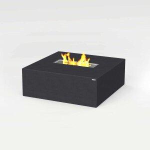 Beton Feuertisch quadratisch von CO33