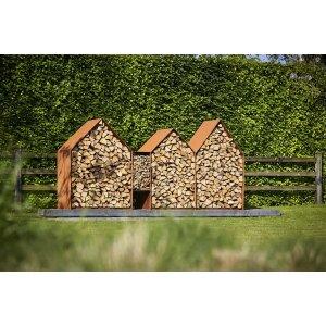 Holzlager Corten Bruges von RB73