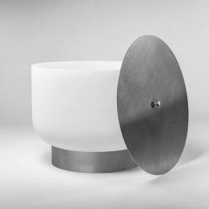 QFlame Feuerschale aus Glas einzelen Teile