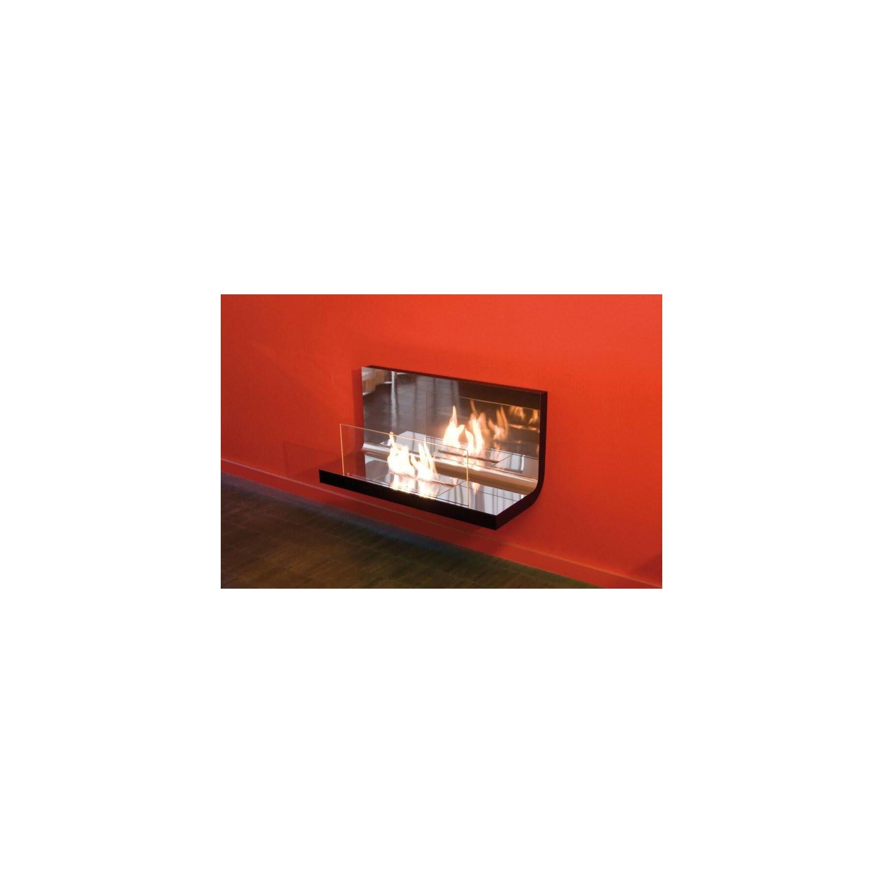 radius ethanol wandkamin wall flame. Black Bedroom Furniture Sets. Home Design Ideas