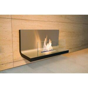 Ethanol Wandkamin Radius Design Wall Flame